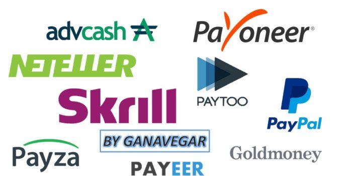 Métodos para pagar online