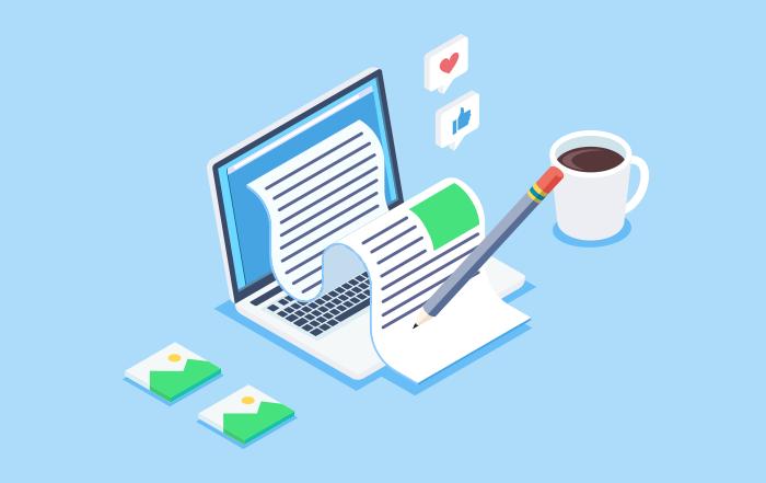 blog como carta de presentación