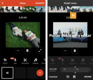 Creación de videos en TikTok