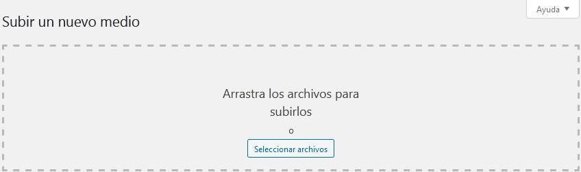 Wordpress compatible con varios formatos de archivos