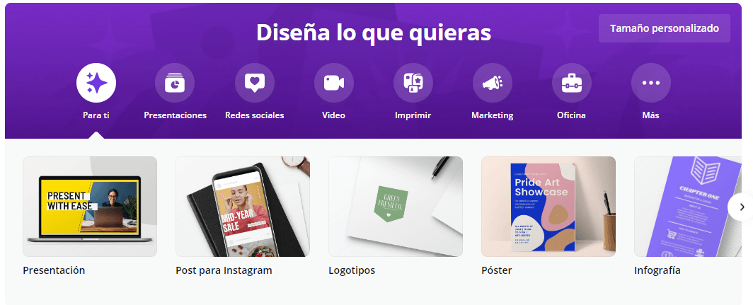 Canva - Hacer logos en línea