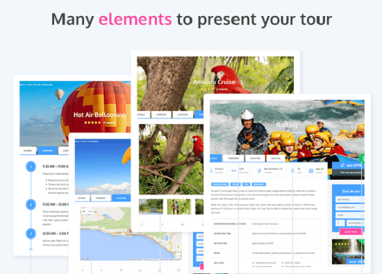 Adventure Tours - Plantillas WordPress para agencias de viajes
